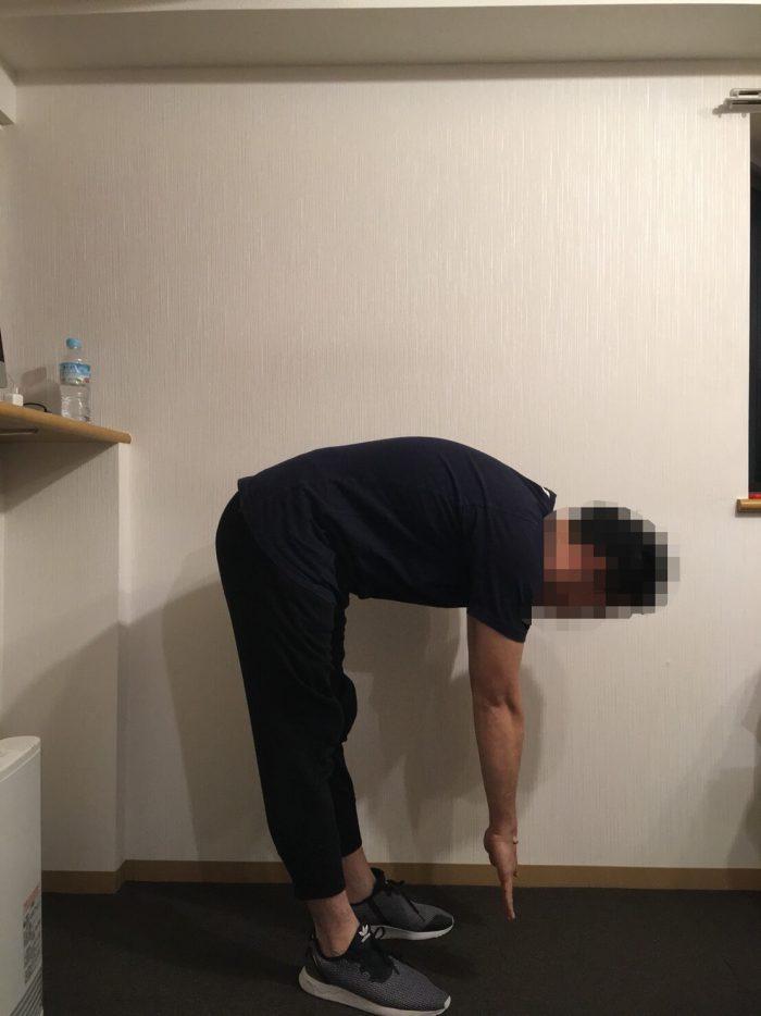 椎間関節が悪いとき痛い動き1